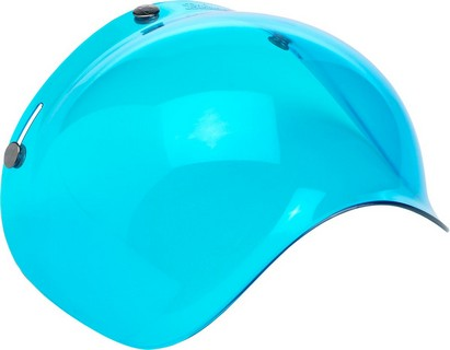 Biltwell Polycarbonate Anti-Fog Bubble Shield Blue Shield Bubble Blu A i gruppen Kläder & Utrustning / Hjälmar / Tillbehör till hjälmar / Bubbelvisir hos Blixt&Dunder AB (01310108)