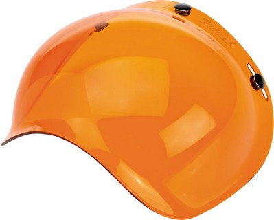 Biltwell Polycarbonate Anti-Fog Bubble Shield Amber Shield Bubble Org i gruppen Kläder & Utrustning / Hjälmar / Tillbehör till hjälmar / Bubbelvisir hos Blixt&Dunder AB (01310112)