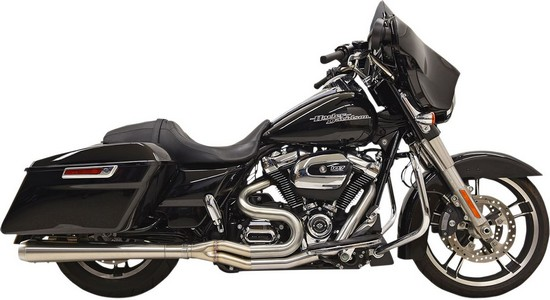 """Pingel Chrome 2/"""" Front /& 1/"""" Rear Lowered Kickstand for Harley FLH//T 07-16"""