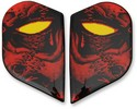 ICON Sideplate Algt Horror Red