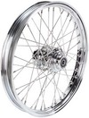 Drag Specialties Front Wheel 21X2.15 Single-Disc 40-Spoke Chrome 21X2.
