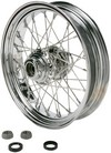Drag Specialties Front Wheel 16X3.5 Single-Disc 40-Spoke Chrome 16X3.5