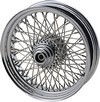 Drag Specialties Front Wheel 16X3.5 Single-Disc 80-Spoke Chrome 16X3.5