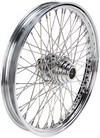 Drag Specialties Front Wheel 21X2.15 Single-Disc 60-Spoke Chrome 21X2.