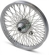 Drag Specialties Front Wheel 21X2.15 Single-Disc 80-Spoke Chrome 21X2.