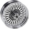 Drag Specialties Fat Daddy Front Wheel 18X3.5 Dual-Disc Black F.Whl 18