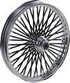 Drag Specialties Fat Daddy Front Wheel 21X2.15 Single-Disc Black Wheel