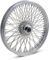Drag Specialties Front Wheel 21X2.15 Single-Disc 80-Spoke Chrome Wheel