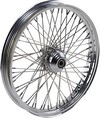 Drag Specialties Front Wheel 21X2.15 Single-Disc 60-Spoke Chrome Wheel