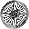 Drag Specialties Fat Daddy Front Wheel 21X3.5 Dual-Disc Chrome Wheel F