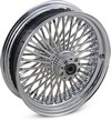 Drag Specialties Front Wheel 50 Spoke Radial 21X3.5 Chrome Dd Wheel