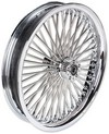 Drag Specialties Front Wheel 50 Spoke Radial 23X3.75 Chrome Dd Wheel