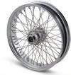 Drag Specialties Wheel Assemblies Laced 60-Spoke Front Chrome Wheel Ft