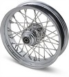 Drag Specialties Rear Wheel 16X3.5 80-Spoke Chrome 16X3.5-80 Rr 00-05