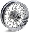 Drag Specialties Rear Wheel 18X3.5 60-Spoke Chrome 16X3.5 R.60Spoke 02