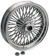 Drag Specialties Fat Daddy Rear Wheel 16X3.5 Chrome 16X3.5Fs.Rr 00-01