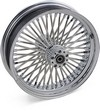 Drag Specialties Fat Daddy Rear Wheel 18X3.5 Chrome 18X3.5Fs.Rr Belt D