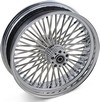 Drag Specialties Fat Daddy Rear Wheel 18X4.25 Chrome 18X4.25 Rr Belt 0