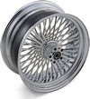 Drag Specialties Fat Daddy Rear Wheel 17X6 Chrome Wheel Rr 17 50S 08-1