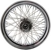 Drag Specialties Rear Wheel 17X6 60-Spoke Chrome Wheel Rr 17 60S 08-10