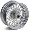 Drag Specialties Rear Wheel 17X6 80-Spoke Chrome Wheel Rr 17 80S 08-10
