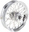 Drag Specialties Rear Wheel 16X3.5 40-Spoke Chrome Wheel Rr 16 40S 08-
