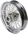 Drag Specialties Rear Wheel 16X3.5 60-Spoke Chrome Wheel Rr 16 60S 08-