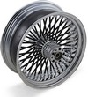 Drag Specialties Fat Daddy Rear Wheel 18X5.5 Black Wheel Rr 18 50 9-18
