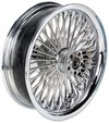 Drag Specialties Rear Wheel 50 Spoke Radial 18X5.5 Chrome Wheel Rr 1