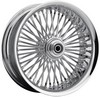 Drag Specialties Rear Wheel 50 Spoke Radial 18X5.5 Chrome Wheel R18X