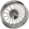 Drag Specialties Wheel Assemblies Laced 60-Spoke Rear Chrome Wheel Rr