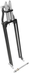 Drag Specialties Springer Fork +4'' Black Fork Springer +4 Blk