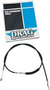 "Drag Specialties Clutch Cable High Efficiency Black Vinyl 76 11/16"" Ca"