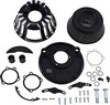Arlen Ness Air Cleaner Kit Inverted Big Sucker Deep Cut Black Air Cln