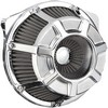 Arlen Ness Air Cleaner Kit Inverted Big Sucker Beveled Chrome Air Cln