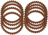 Drag Specialties Clutch Friction Plates Kit Organic Plates Organic 90-