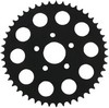 Sprocket Rear Wheel 49T Flat Gloss Black Sprocket Blk 49T Flat
