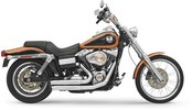 Bassani Exh Frfswp 06-11 Fxd Ch Exhaust Firesweep Turnout Chrome