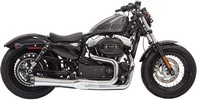 Bassani Exh 2-1 Mega 14-19 Xl Ch Exhaust Road Rage Ii Mega Chrome W/ B