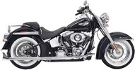 ''Bassani Exhaust Ftail 2,25 30 07 Muffler True Duals With 30'''' Long 2-