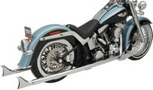 ''Bassani Exhaust Ftail 2,25 36 07 Muffler True Duals With 36'''' Long 2-