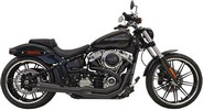 Bassani Exhaust 2:1 Bk 18+ Fxbr Exhaust System Road Rage Iii 2-Into-1