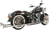 ''Bassani Exhaust F-Tail 39 89-17St Muffler Slip-On True Dual W/39'''' Lo