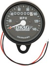 2.4 Mechanical Speedometer 2240:60 Black Housing Black Face Speedo Blk