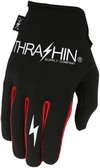 Thrashin Glove Stlth Black/Red Medium