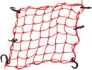 ''Powertye  Cargo Net / 38,1 Cm (15'''') X 38,1 Cm (15'''') / Red / Textile