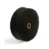Avgasbandage - Exhaust Insulating Wrap. (15m, 2* Wide, Black)