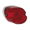 Laydown Taillight Red 73-98 H-D(Nu)