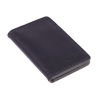 Dickies Lunenburg Leather Card Holder Black  100% buffalo leather embo