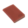 Dickies Lunenburg Leather Card Holder Brown  100% buffalo leather embo